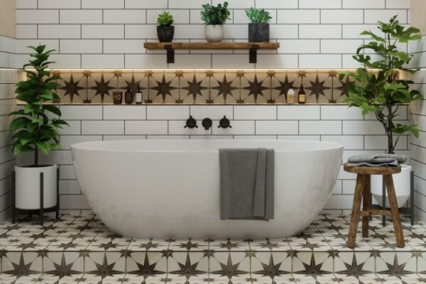 Create The Beautiful Appearance Of On Spacious Room With Mosaics